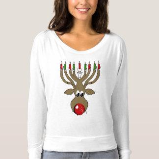 Hanukkah Reindeer -.png T-Shirt