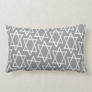Hanukkah Reversible Throw Decor Pillow – Gray