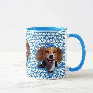 Hanukkah Star of David - Beagle Mug