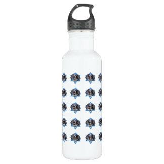 Hanukkah Star of David - Bluetick Coonhound Chuck 710 Ml Water Bottle