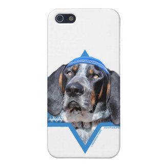 Hanukkah Star of David - Bluetick Coonhound Chuck iPhone 5 Covers