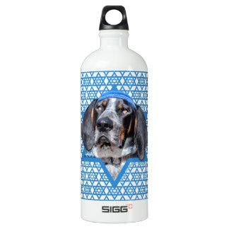 Hanukkah Star of David - Bluetick Coonhound Chuck SIGG Traveller 1.0L Water Bottle