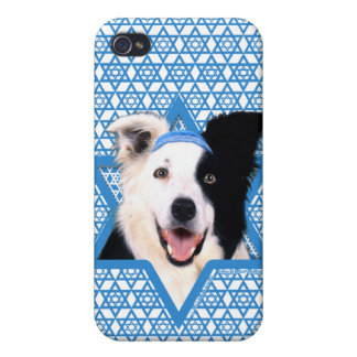 Hanukkah Star of David - Border Collie iPhone 4/4S Cover