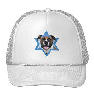 Hanukkah Star of David - Boxer - Vindy Hats
