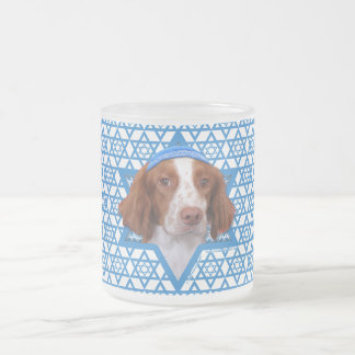 Hanukkah Star of David - Brittany - Charlie Frosted Glass Mug