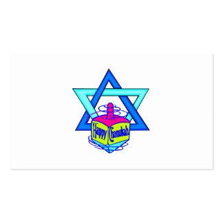 Hanukkah Star of David Business Card