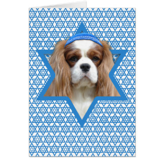 Hanukkah Star of David - Cavalier Card