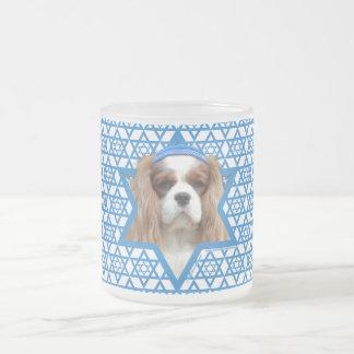 Hanukkah Star of David - Cavalier Frosted Glass Mug