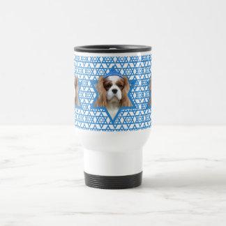 Hanukkah Star of David - Cavalier Stainless Steel Travel Mug