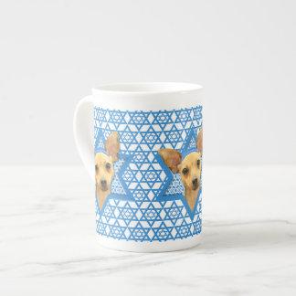 Hanukkah Star of David - Chihuahua Porcelain Mug