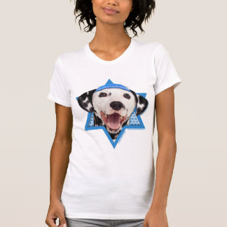Hanukkah Star of David - Dalmatian T-Shirt