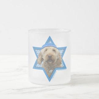 Hanukkah Star of David - GoldenDoodle Coffee Mugs