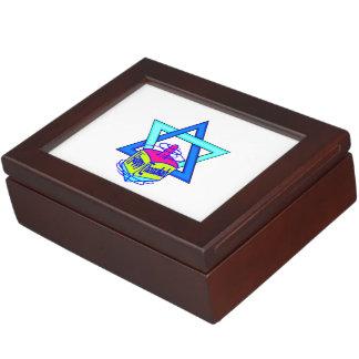 Hanukkah Star of David Keepsake Box