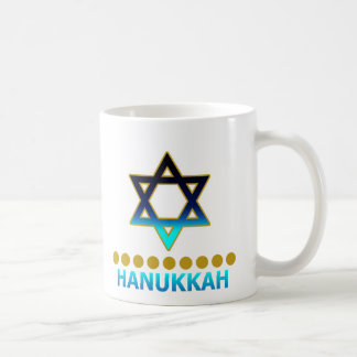 Hanukkah Star Of David Menorah Coffee Mug