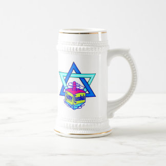 Hanukkah Star of David Mugs