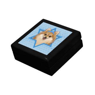 Hanukkah Star of David - Pomeranian Gift Box