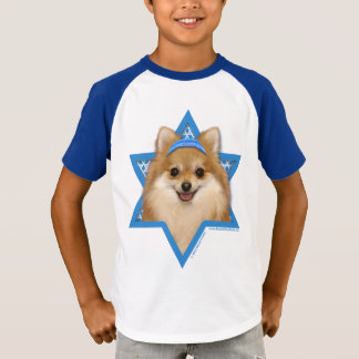 Hanukkah Star of David - Pomeranian T-Shirt