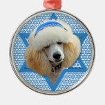 Hanukkah Star of David - Poodle - Apricot