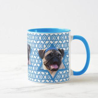 Hanukkah Star of David - Pug