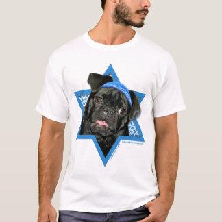 Hanukkah Star of David - Pug - Ruffy T-Shirt