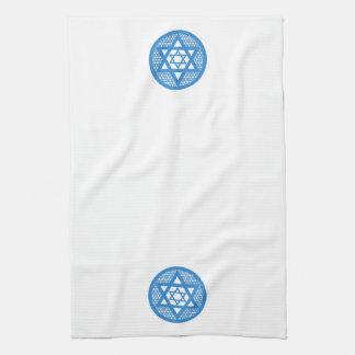 Hanukkah - Star of David Tea Towel