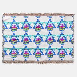 Hanukkah Star of David Throw Blanket