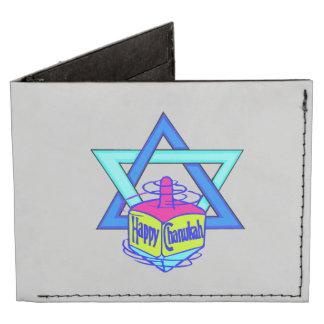 Hanukkah Star of David Tyvek Wallet