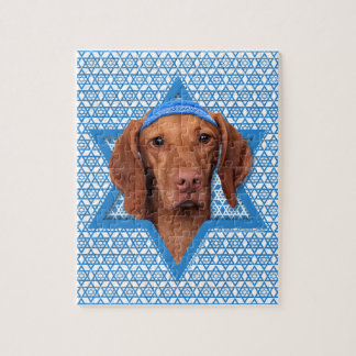Hanukkah Star of David - Vizsla - Reagan Puzzles