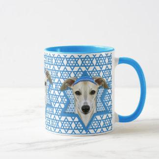 Hanukkah Star of David - Whippet Mug
