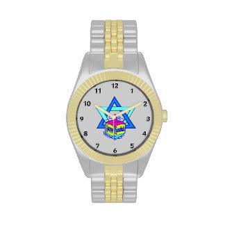 Hanukkah Star of David Wristwatch