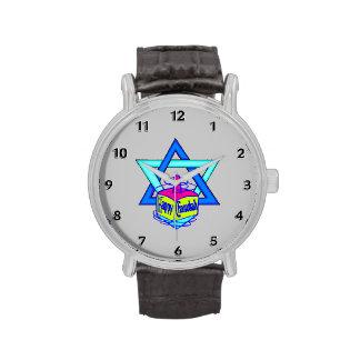 Hanukkah Star of David Wristwatches