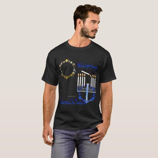 Hanukkah Stars Men's Dark T-shirt