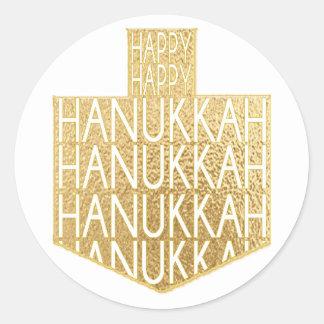 "Hanukkah Stickers (1 1/2"" or 3"")""Hanukkah Dreidel"""