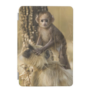 Hanuman Langur adult with young iPad Mini Cover