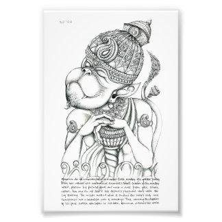 Hanuman, Monkey God Photo Print