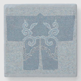 Haori - indigo stone coaster