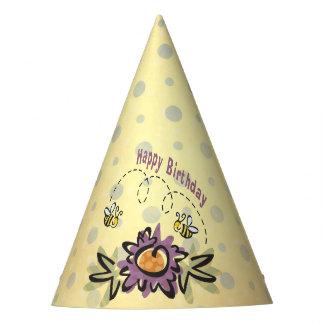 Hap-Bee Birthday! Birthday Party Hats