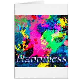 Hapiness Design Greeting Card