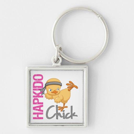 Hapkido Chick Keychain