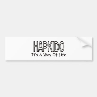 Hapkido It's A Way Of Life Bumper Stickers