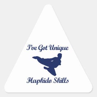 hapkido martial art designs triangle sticker