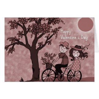 Happ valentine s day greeting card