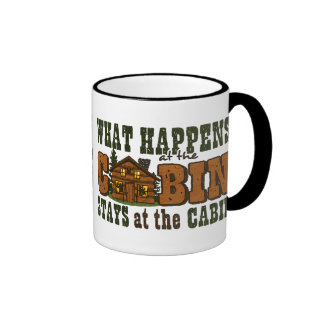 Happens At The Cabin Mug