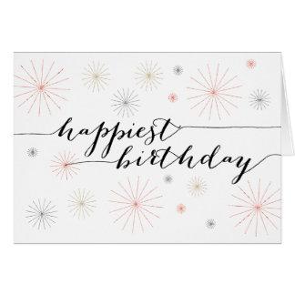 Happiest Birthday Greeting Card