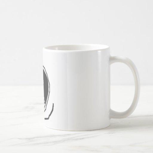 Happily alone mug
