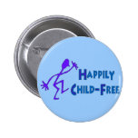 Happily Child-Free Button