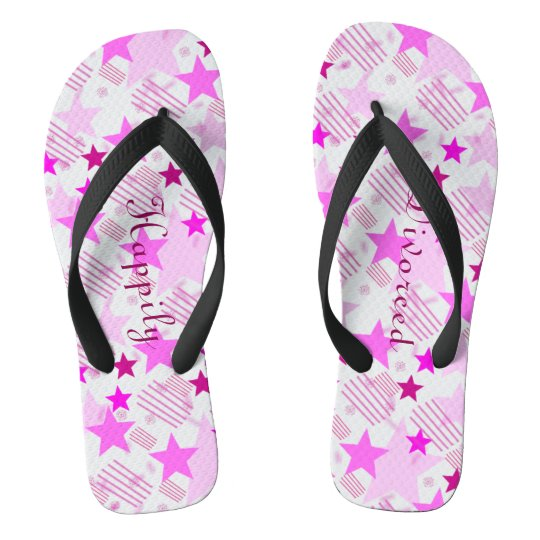 Happily Divorced Flip Flops