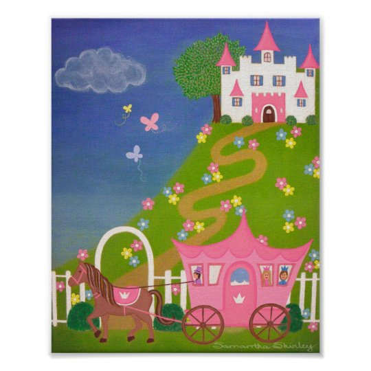 Happily Ever After - 8x10 Princess Castle Kids