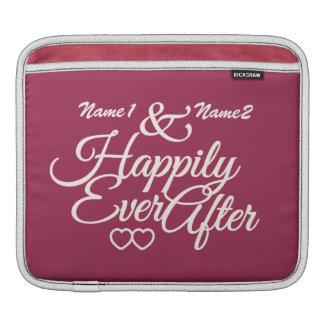 Happily Ever After custom iPad sleeve