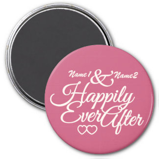 Happily Ever After custom magnet